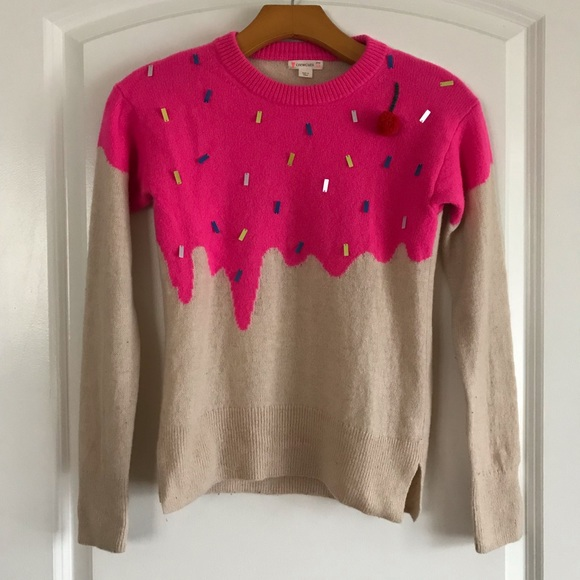 Crewcuts Girls wool Ice Cream pullover